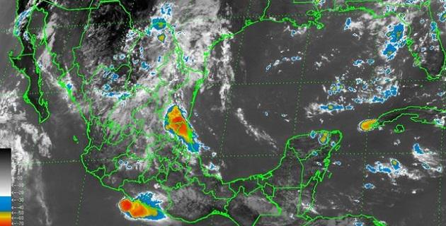 La Comisión Nacional del Agua y el Servicio Meteorológico Nacional exhortan a la población a continuar informada sobre las condiciones meteorológicas mediante la cuenta de twitter @conagua_clima