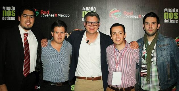 El dirigente estatal de Red Jóvenes por México en Michoacán se congratuló de la creatividad y dinamismo que Cristopher James Barousse, le ha inyectado al Comité Nacional de la Organización
