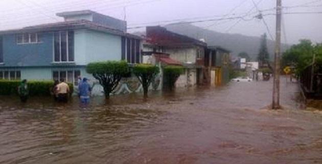 Hace la SSP un recuento sobre las afectaciones por las lluvias en Morelia, Tarímbaro, Uruapan, Cotija y Múgica