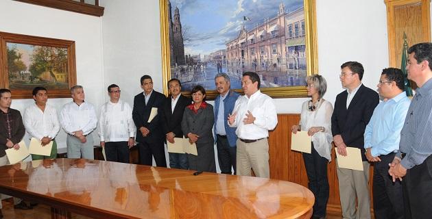 Esta administración seguirá dando buenos resultados, de acuerdo con el Plan Michoacán y con el Plan de Desarrollo establecido desde el inicio de este periodo gubernamental: Oseguera Méndez