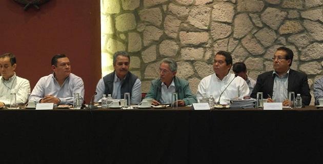 Jara Guerrero también tuvo su primera reunión de trabajo con el nuevo contralor Joaquín Aguilar