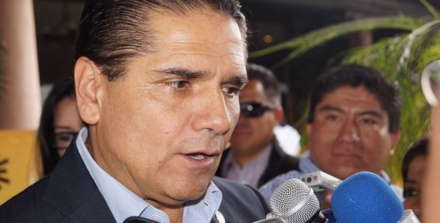 Aureoles Conejo se mostró cauto al ser cuestionado en torno a las declaraciones del líder nacional del Foro Nuevo Sol, Vladimir Aguilar, en torno a que es el mejor perfil para la gubernatura de Michoacán