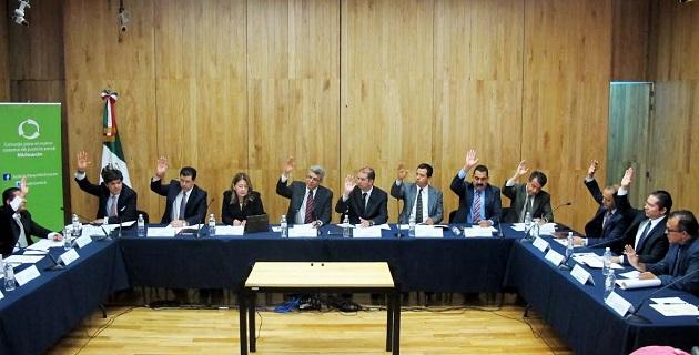 El anteproyecto fue aprobado por once de los doce asistentes a la sesión del Consejo para el Nuevo sistema de justicia penal, y solo se registró el voto en contra de la diputada y consejera Cristina Portillo