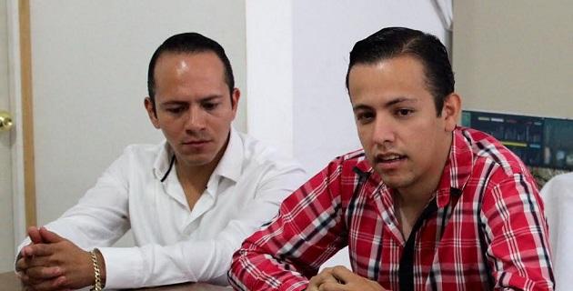 """""""Es tiempo de todos sumar sin simulaciones para dos proyectos, uno llamado PRI y otro más grande llamado Michoacán"""", dijo Jordy Arrés"""