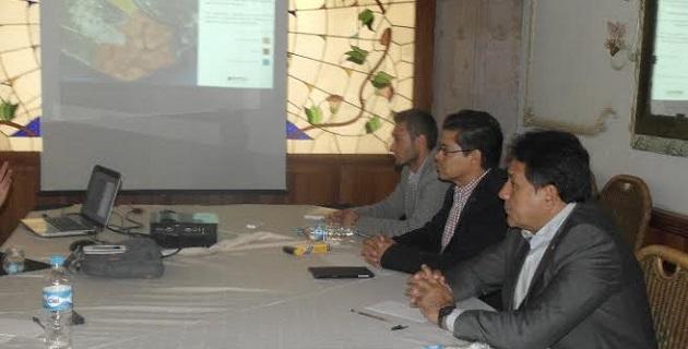 Cabe señalar que en la reunión de trabajo estuvo presente también el director del Fideicomiso de Parques Industriales de Michoacán (FIPAIM), Mario Villegas Alfaro