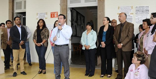 El secretario técnico, Felipe Campos, pidió a los nuevos funcionarios trabajar a favor de todas las familias de la entidad, para así dar continuidad a los trabajos que se han emprendido a favor de la población más vulnerable