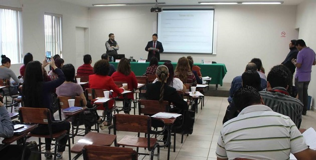 Por instrucciones del Procurador José Martín Godoy Castro, la dependencia continuará con procesos de capacitación para el personal de la PGJE
