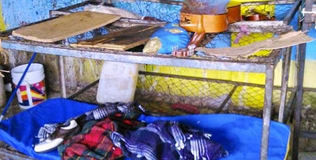 Los internos en el lugar habitaban en condiciones infrahumanas, prueba de ello es que en el lugar se encontraron 20 toneladas de basura y denunciaron que les daban de comer alimentos podridos
