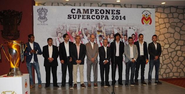 La escuadra michoacana se convirtió en el primer equipo mexicano que logra la clasificación para la Copa Libertadores 2015 vía repechaje