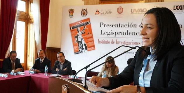 Carlos Vital, director del IIEL, definió la revista como un eslabón de reflexión y análisis donde se da la oportunidad a todo aquél interesado en generar una propuesta fundamentada y aportaciones e insumos valiosos para la vida jurídica