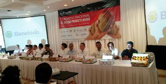 Benítez Vélez, resaltó que en Michoacán se producen 135 mil 485 toneladas de mango para la exportación y que en la entidad se encuentran los mejores mangos del país