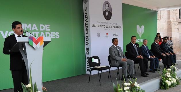 Barajas Rodríguez confió en una efectiva gestión de Jara Guerrero, fincada en el humanismo como eje y el bien común como destino