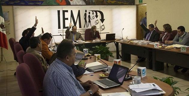 También se aprobaron diversos acuerdos sobre el Voto de los Michoacanos en el Extranjero,  así como resoluciones a procedimientos administrativos