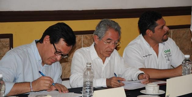 Jara Guerrero señaló que coincide con la política del presidente Enrique Peña Nieto en el sentido de tener como colaboradores gente capaz de tomar decisiones para concretar acuerdos y acciones
