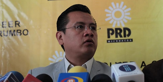 El PRD siempre estará a favor de la legalidad, independientemente de colores partidistas: Torres Piña