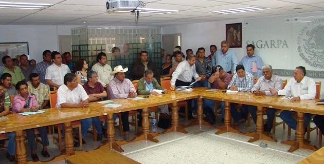 Con estos recursos se adquirirán alrededor de 30 tractores; desvaradoras, sembradoras; además de equipar a empaques de guayaba, mango y limón