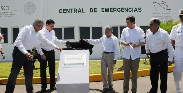 Son más de 11 mil millones de pesos los que el Gobierno Federal invierte este sexenio en el Puerto de Lázaro Cárdenas