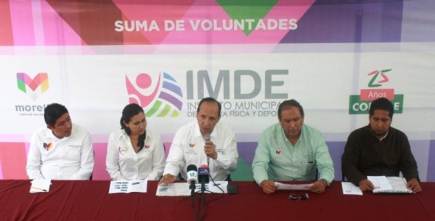 El Ayuntamiento de Morelia, con el respaldo de la CONADE, rehabilitará el recinto deportivo, el cual tiene 70 años en funcionamiento y es uno de los más reconocidos en la ciudad