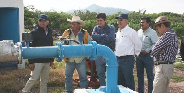 La rehabilitación de unidades de riego, dentro de las acciones del Plan Michoacán
