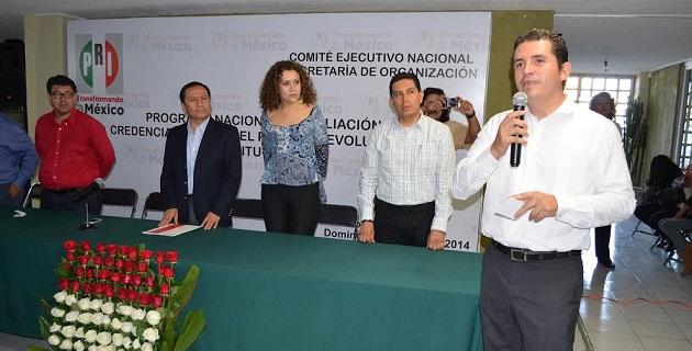 Aguirre Chávez señaló que el Revolucionario Institucional se prepara para estar fortalecidos con su militancia de cara a los comicios de 2015.