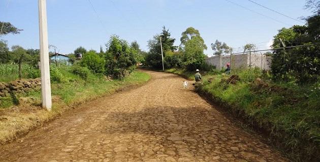 El objetivo es aportar a la zona rural de Morelia obras trascendentes que mejoren significativamente la vida en sus comunidades