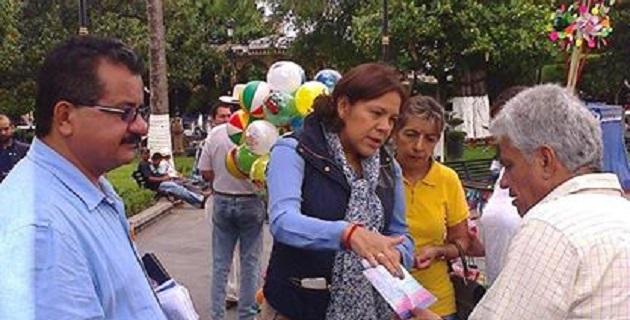 En el marco del receso legislativo, la legisladora realizó diversas actividades de acercamiento con la población michoacana y recorrió diversos municipios y poblaciones de Michoacán