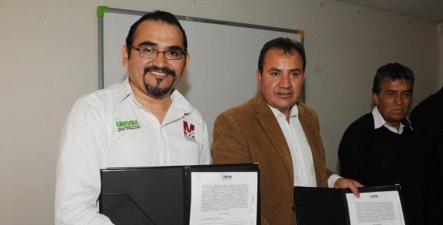 El rector de dicha institución académica, Juan Manuel Ayala Jacobo, aseguró que con esta firma se ayuda a los jóvenes que de alguna u otra manera no tienen la oportunidad de asistir a la escuela para cursar una licenciatura