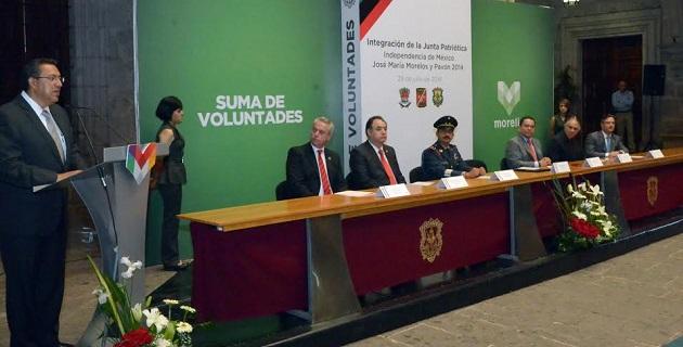 """Wilfrido Lázaro Medina resaltó que Michoacán vive tiempos de cambio y por ello, """"hoy nos toca hacer a nosotros la historia"""", una historia que apoye a las clases desprotegidas y que genere oportunidades a los jóvenes"""