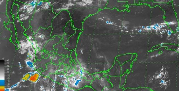 Una zona de baja presión localizada en el Océano Pacífico, aproximadamente a mil 565 km al sur-suroeste de Cabo San Lucas, Baja California Sur, tiene 30% de potencial para desarrollo ciclónico en las próximas 48 horas