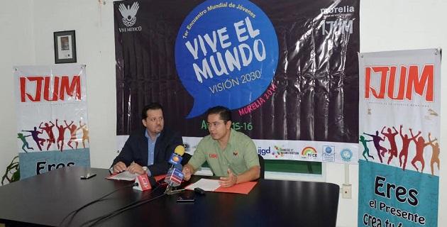 La sede será el Auditorio de Usos Múltiples de la UMSNH, anunció el director general del IJUM, Pablo César Sánchez Silva