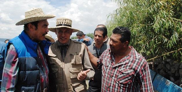 La delegación de SAGARPA, encabezada por Pedro Luis Benítez Vélez y la Secretaría de Desarrollo Rural estatal, trabajan hombro a hombro con los productores, con el único fin de fortalecer a este sector: Rodríguez López