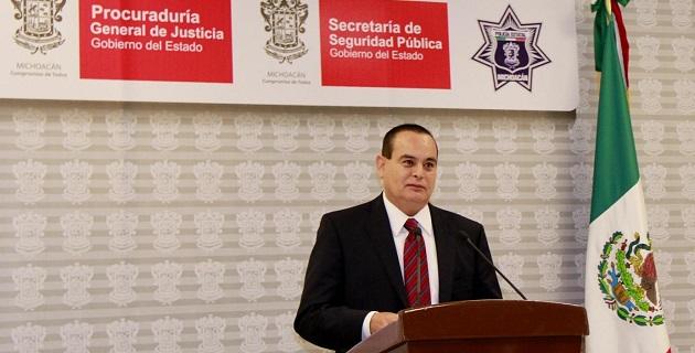 """Godoy Castro aseveró que la PGJE, ya tiene conocimiento de """"muchos casos"""" relacionados con el crimen organizado y funcionarios en la entidad"""