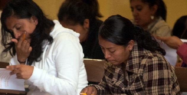 De los mil 624 sustentantes que participaron este jueves en la evaluación del Ingreso al Servicio Profesional Docente, prácticamente el 99% fueron de Michoacán