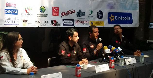 Francisco Xavier Lara, titular de la Sejoven, anunció la programación que iniciará el sábado 9 de agosto con una campaña de Reforestación en la Zona conocida como Piedra del Indio, por la carretera a Cointzio