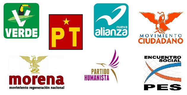 Para 2015, ya no habrá solamente cuatro de estos institutos políticos, sino siete, puesto que a los previamente existentes se sumarán aquellos tres que recientemente obtuvieron su registro ante el INE