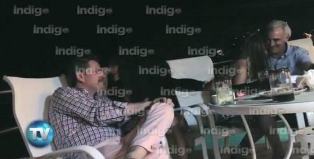 Diputados de Nuevo León, Guanajuato, Sonora, Sinaloa y el Enlace parlamentario, de San Luis Potosí, aparecen en las imágenes bebiendo, bailando y hasta deslizando sus manos sobre los glúteos de las chicas