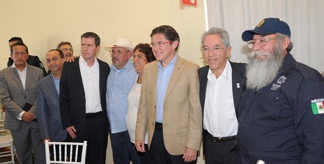 Por su parte el gobernador de Michoacán, Salvador Jara Guerrero, reconoció la labor de la federación en la entidad e indicó que las autoridades estatales asumirán sus responsabilidades