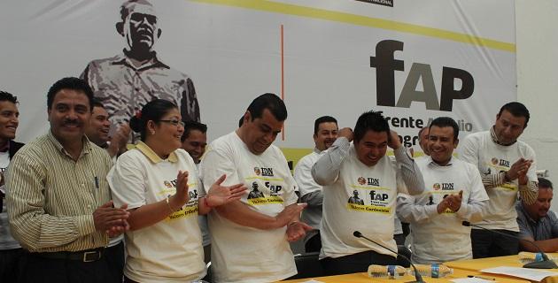 Sin dar nombres, Calderón Torreblanca aseguró que alcaldes y liderazgos del Foro Nuevo Sol se han cambiado al Frente Amplio Progresista que él encabeza
