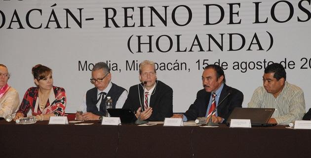 El ministro holandés manifestó el interés del gobierno que representa para establecer relaciones comerciales con Michoacán