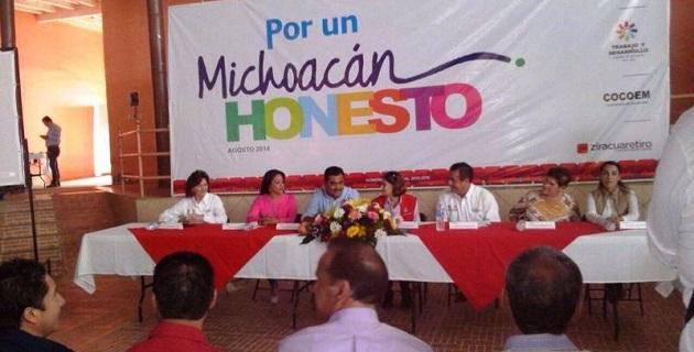 Montiel Aguilar encabezó los talleres de contralores infantiles en Uruapan y Ziracuaretiro