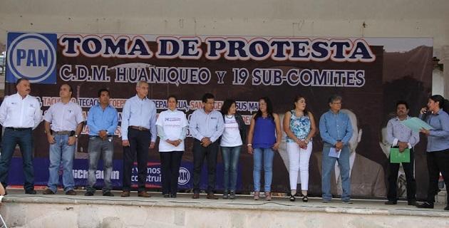 El reto ahora del albiazul, subrayó Chávez Zavala, será buscar los mejores perfiles, presentar las mejores propuestas con la mejor de las campañas políticas, al igual que dar un esplendido cierre de sus gobiernos municipales humanistas