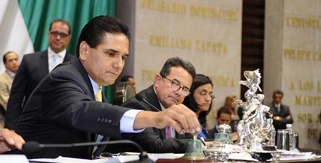 El legislador apuntó que espera sostener en próximos días una reunión con el titular del ejecutivo en Michoacán, Salvador Jara, para trazar una ruta que permita escribir una nueva página en la historia del estado