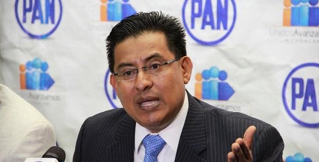 Demanda Chávez Zavala que el presidente Peña Nieto y el secretario de Gobernación, Miguel Ángel Osorio, den cuenta de en quién dejaron la estrategia federal de seguridad para Michoacán