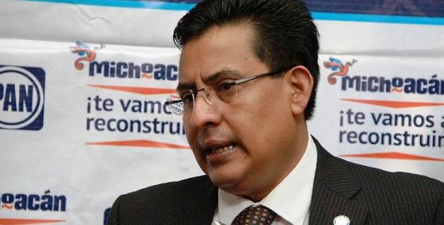 En rueda de prensa, Chávez Zavala señaló que hasta ahora la calificación para el gobierno de Jara Guerrero es negativa, por su pobre desempeño