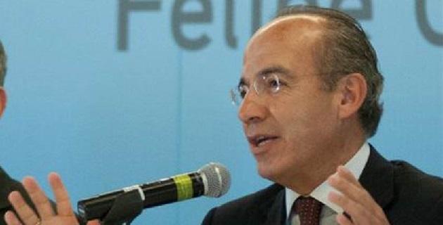 Calderón Hinojosa insinuó que la falta de apoyo estatal a la estrategia anti crimen continuó al término de su administración