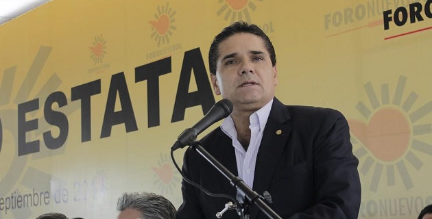 Aureoles Conejo hizo un llamado a la militancia y liderazgos del PRD, así como un reconocimiento a todas las corrientes que participaron en la elección interna del sol azteca