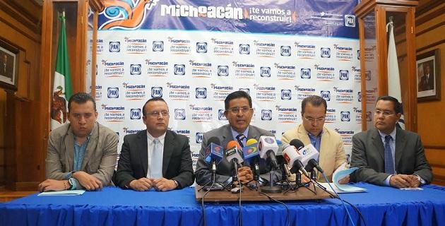Chávez Zavala refrendó el compromiso de Acción Nacional con la legalidad y el respeto a las instituciones del estado a unos días del inicio formal del proceso para los comicios del 2015