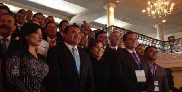El presidente municipal panista es también en la actualidad el presidente de la Asociación Michoacana de Alcaldes