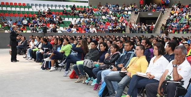 El alcalde Wilfrido Lázaro impulsó de manera decidida este revolucionario congreso, que busca sentar bases más sólidas en las personas que desarrollan sus actividades en vínculo con la actividad física