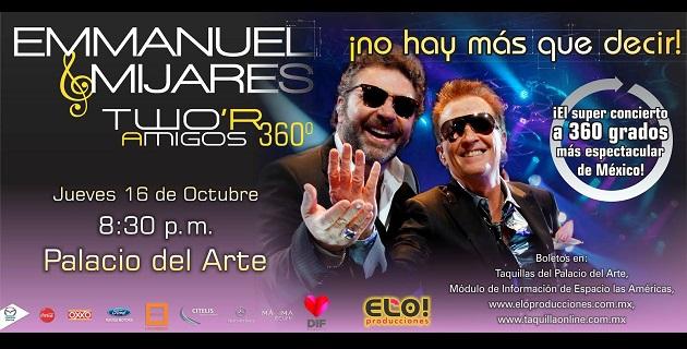 El horario para este importante concierto continuará siendo el mismo, por lo que se espera el arranque del mismo a las 20:30 horas del próximo jueves 16 de octubre
